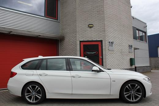 Rijervaring Chiptuning BMW 320d EDE 163 PK 380 NM Zijkant
