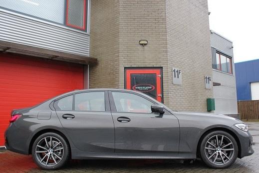 Rijervaring Chiptuning BMW 318d G20-G21 150 PK Zijkant