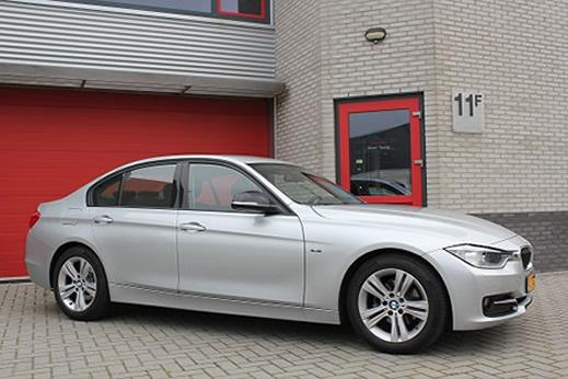 Rijervaring Chiptuning BMW 318d 143 PK Zijkant