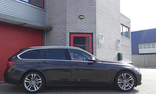 Rijervaring Chiptuning BMW 320d EDE 163 PK en 400 NM Zijkant