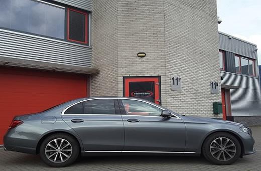 Rijervaring Chiptuning Mercedes E220 CDI 194 PK Zijkant