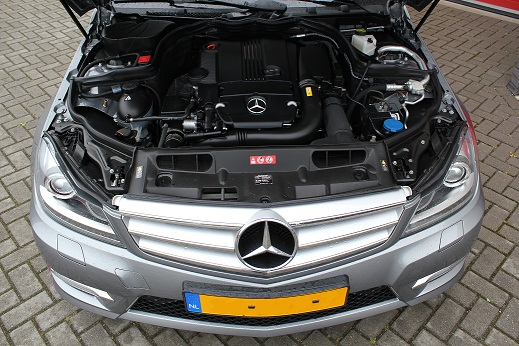 Rijervaring Chiptuning Mercedes C250 CGI 204 PK Voorkant