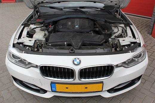 Rijervaring Chiptuning BMW 320d EDE 163 PK 380 NM Voorkant