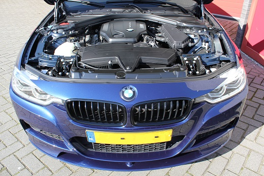 Rijervaring Chiptuning BMW 320d EDE 163 PK en 400 NM Voorkant