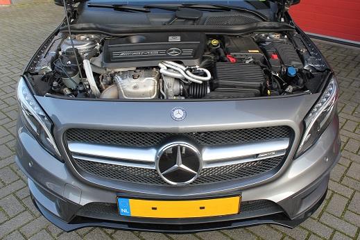 Rijervaring Chiptuning Mercedes GLA 45 AMG Voorkant