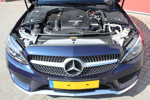Rijervaring Chiptuning Mercedes C180 CGI Coupe Voorkant