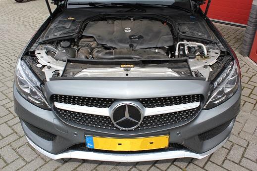 Rijervaring Chiptuning Mercedes C220 CDI Voorkant