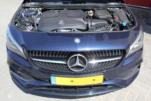 Rijervaring Chiptuning Mercedes CLA 180 CGI 122 PK Automaat Voorkant