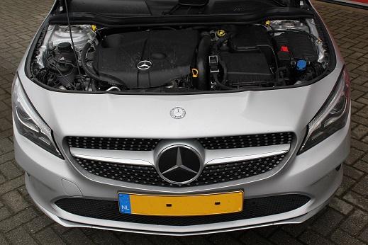 Rijervaring Chiptuning Mercedes CLA 200 CDI 136 PK Voorkant