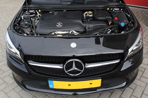 Rijervaring Chiptuning Mercedes CLA 180 CGI 122 PK Voorkant