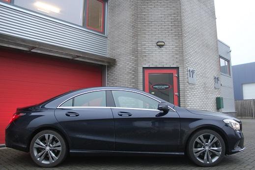 Rijervaring Chiptuning Mercedes CLA 180 CDi 109 PK Zijkant