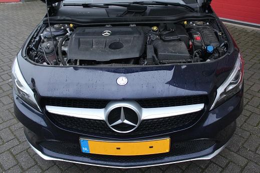 Rijervaring Chiptuning Mercedes CLA 180 CDi 109 PK Voorkant