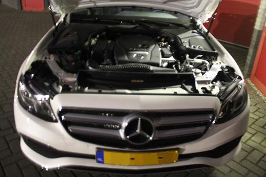 Rijervaring Chiptuning Mercedes E 350e 279 PK 600 NM Voorkant