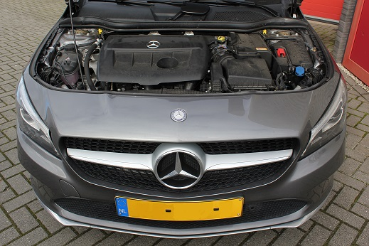 Rijervaring Chiptuning Mercedes CLA 180 Cdi Voorkant