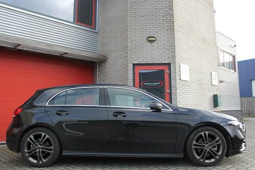 Rijervaring Chiptuning Mercedes A180 CGI 136 PK Zijkant