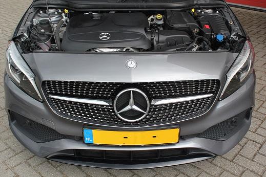 Rijervaring Chiptuning Mercedes A180 CGI 122 PK Voorkant