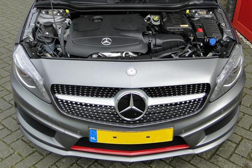 Rijervaring Chiptuning Mercedes A250 CGI Voorkant