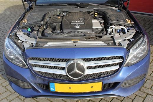 Rijervaring Chiptuning Mercedes C350 e Voorkant