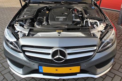 Rijervaring Chiptuning Mercedes C180 CGI Voorkant