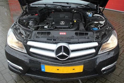 Rijervaring Chiptuning Mercedes C180 CGI 156 PK Coupe Voorkant