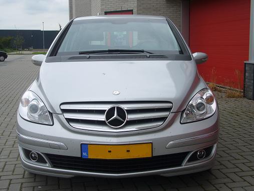 Rijervaring Chiptuning Mercedes B180 CDI 136 PK Voorkant