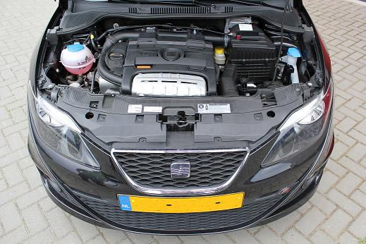 Rijervaring Chiptuning Seat Ibiza 1.4 TSI 150 PK Voorkant