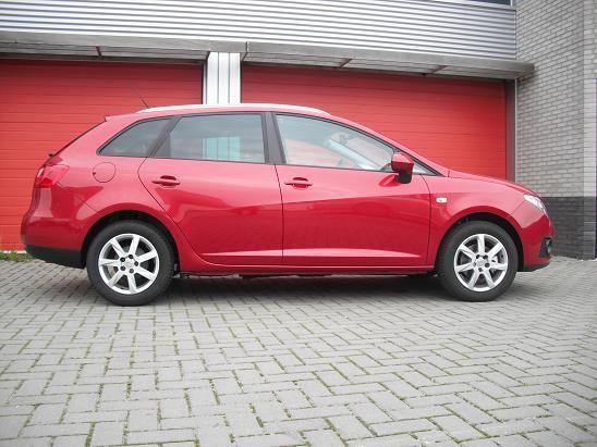 Rijervaring Chiptuning Seat Ibiza 1.2 TDI 75 PK Zijkant