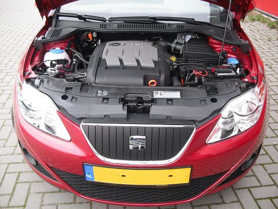 Rijervaring Chiptuning Seat Ibiza 1.2 TDI 75 PK Voorkant