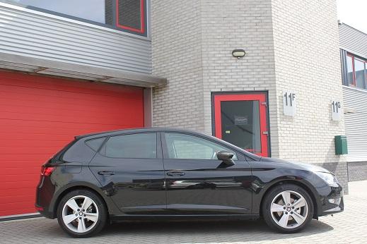 Rijervaring Chiptuning Seat Leon 1.4 TSI 140 PK Zijkant