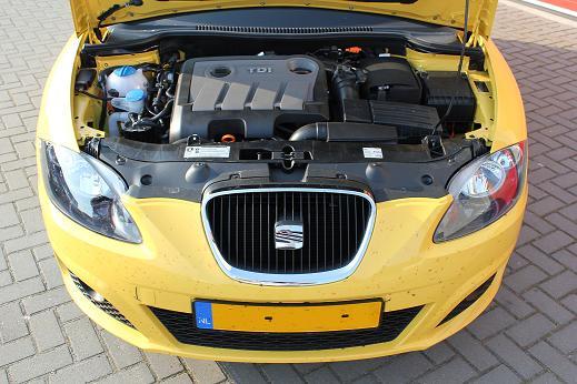 Rijervaring Chiptuning Seat Leon 1.6 TDI 105 PK Voorkant