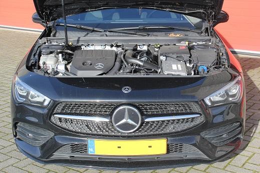 Rijervaring Chiptutunig Mercedes CLA 180 CGI 136 PK Voorkant
