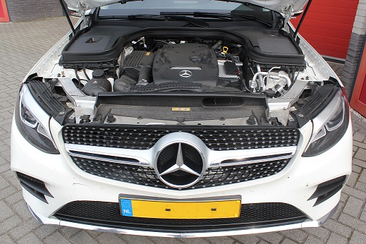 Rijervaring Chiptuning Mercedes GLC 250 CGi 211 Pk Voorkant