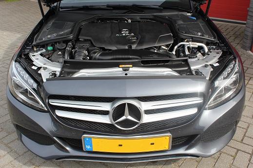 Rijervaring Chiptuning Mercedes C300 H Voorkant