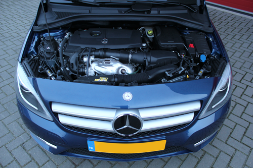 Rijervaring Chiptuning Mercedes B180 CGI 122 PK Voorkant