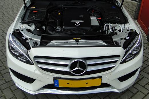 Rijervaring Chiptuning Mercedes C200 CGI 156 PK Voorkant