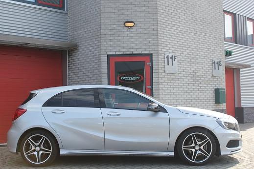 Rijervaring Chiptuning Mercedes A180 CGI 122 PK Automaat Zijkant