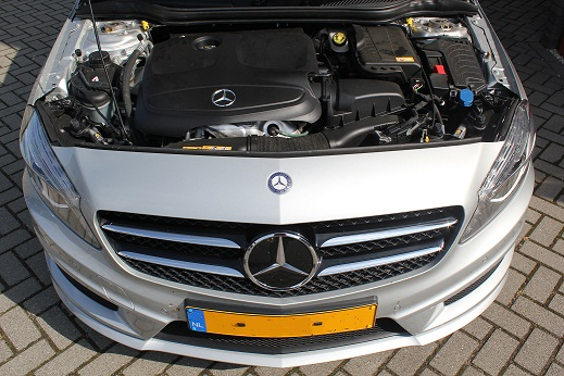 Rijervaring Chiptuning Mercedes A180 CGI 122 PK Automaat Voorkant