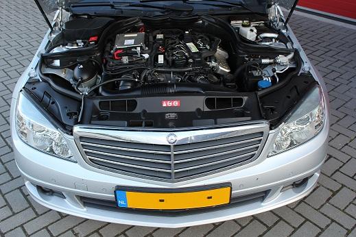 Rijervaring Chiptuning Mercedes C180 CDI 120 PK Voorkant