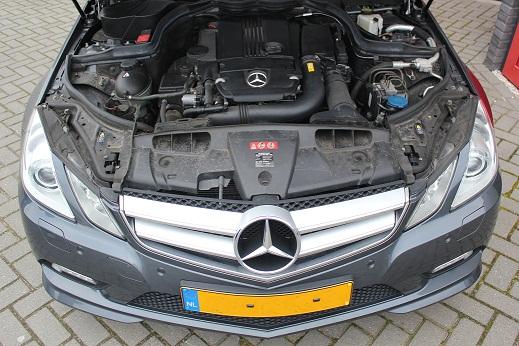 Rijervaring Chiptuning Mercedes E200 CGI Voorkant