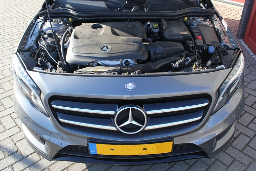 Rijervaring Chiptuning Mercedes GLA 200 CGi 156 PK Voorkant