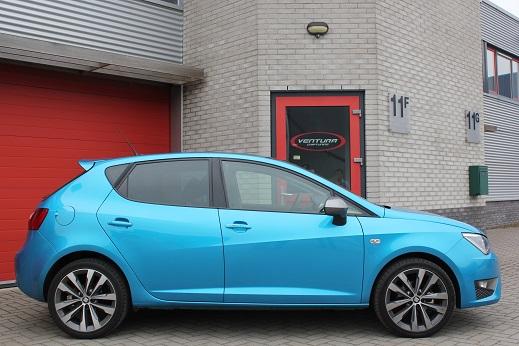 Rijervaring Chiptuning Seat Ibiza 1.4 TDi Bluemotion 90 PK Zijkant