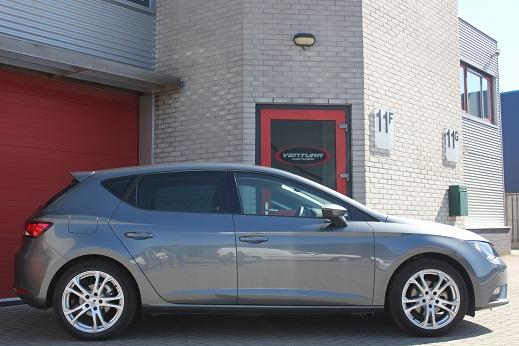 Rijervaring Chiptuning Nieuwe Seat Leon 1.0 TSI 115 PK Zijkant