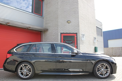 Rijervaring Chiptuning BMW 320d EDE 163 PK 400 NM Zijkant