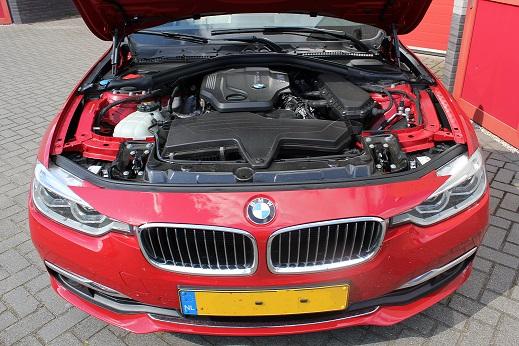 Rijervaring Chiptuning BMW 320d EDE 163 PK 400 NM Voorkant
