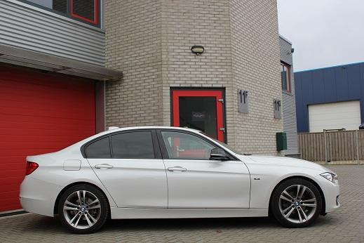 Rijervaring Chiptuning BMW 320d 184 PK Zijkant