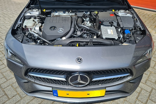 Rijervaring Chiptuning Mercedes CLA 180 CGi 136 PK Voorkant